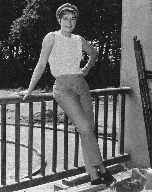 Mary Rand at home