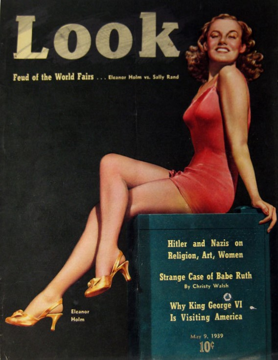 Eleanor Holm on cover of Look Magazine