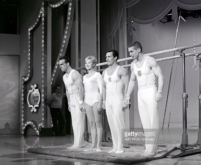 Abie Grossfeld Muriel Grossfeld Armando Vega Ron Barak_May 1964_Getty