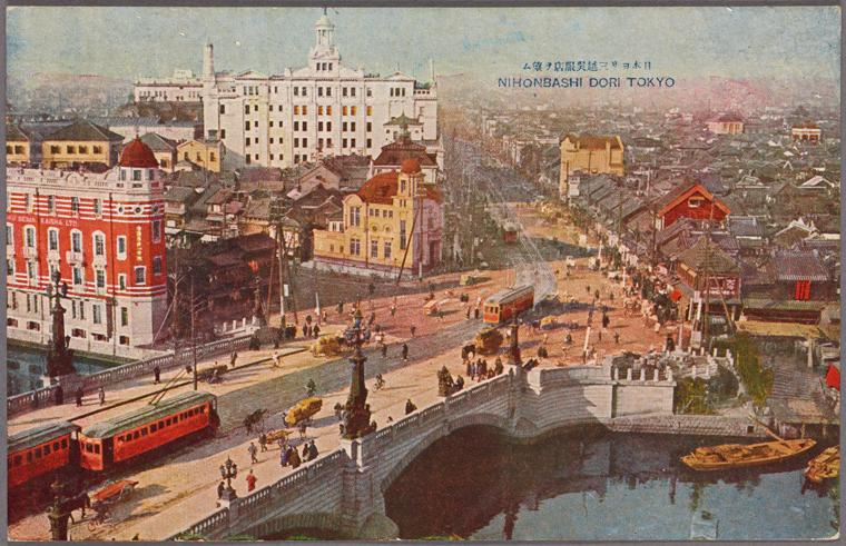 Nihonbashi circa 1922
