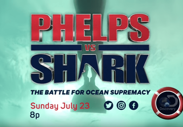 phelps vs shark