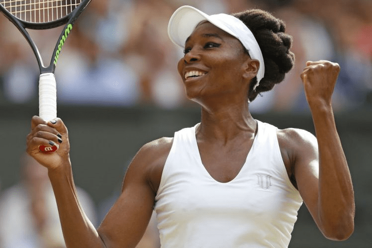 Venus Williams makes it to her ninth Wimbledon Finals in 2017
