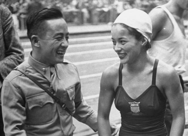 Sammy Lee and Vicki Manalo Draves