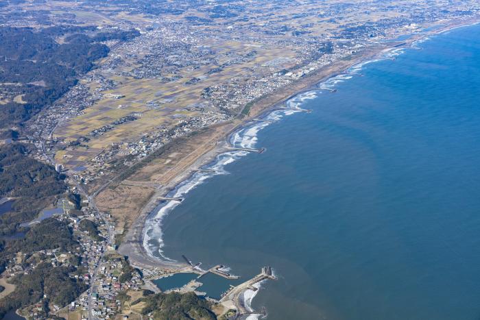 Tsurigasaki Beach Aerial View