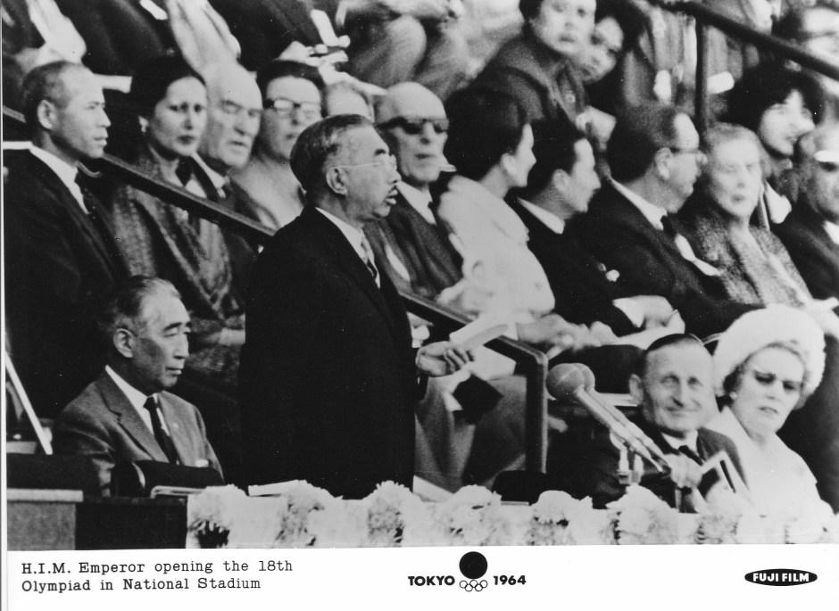 Fuji Film 4_Emperor Hirohito opens the Games