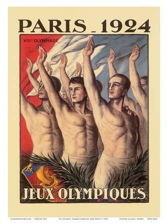 1924 Paris Olympics poster