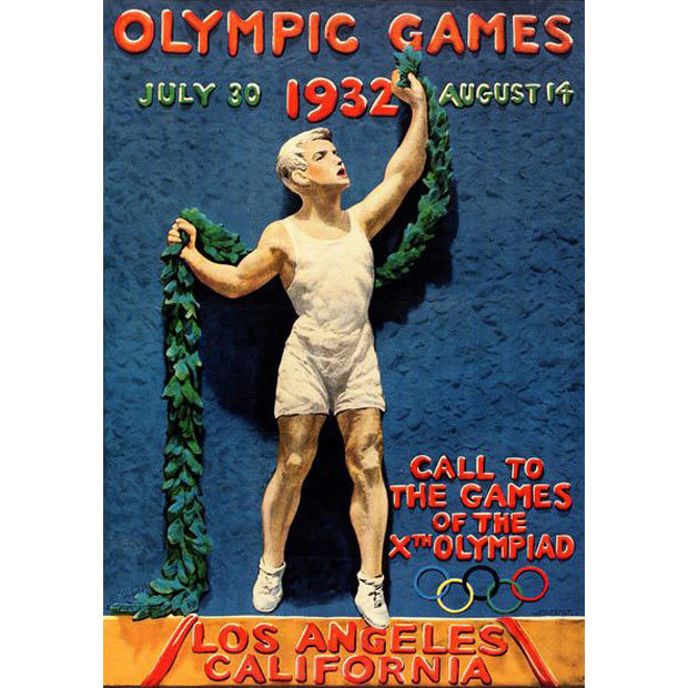 1932 Los Angeles Olympics poster