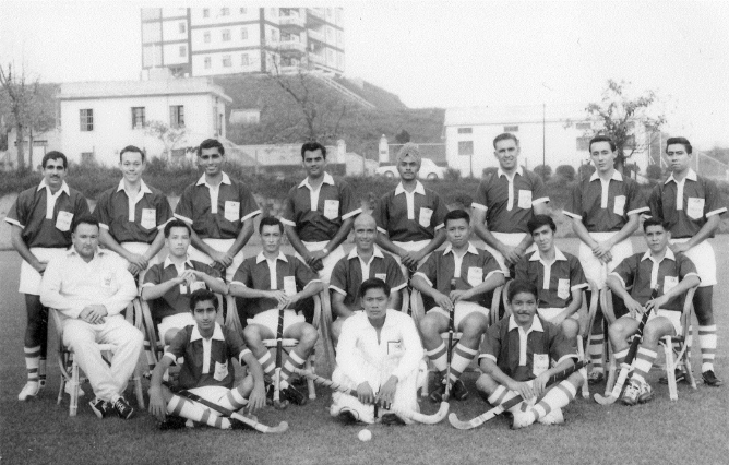 Hong Kong Field Hockey Team_1964
