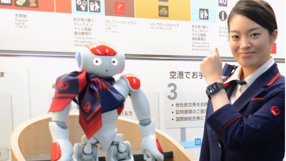 Robots at Haneda 2