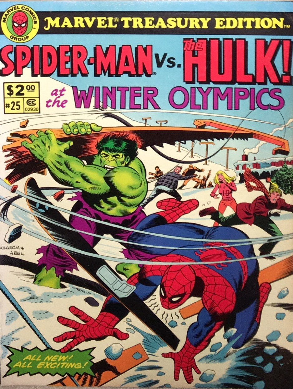 Spiderman vs Hulk at the Winter Olympics_1