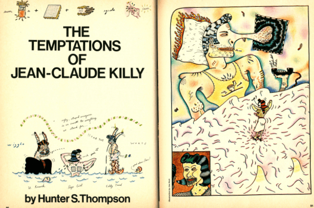 The Temptations of Jean Claude Killy