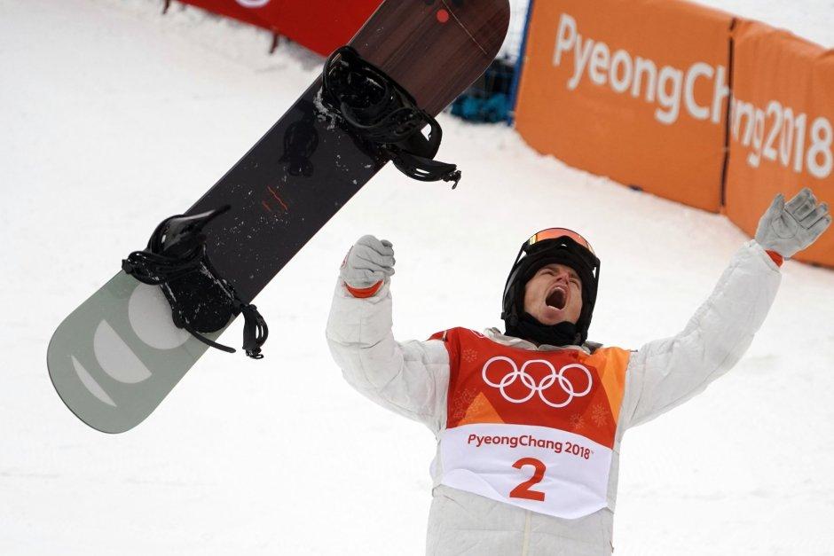 Shaun White wins 2018 Olyjmpic halfpipe_NYT