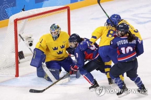 Women's Ice Hockey_Sweden vs Korea 2