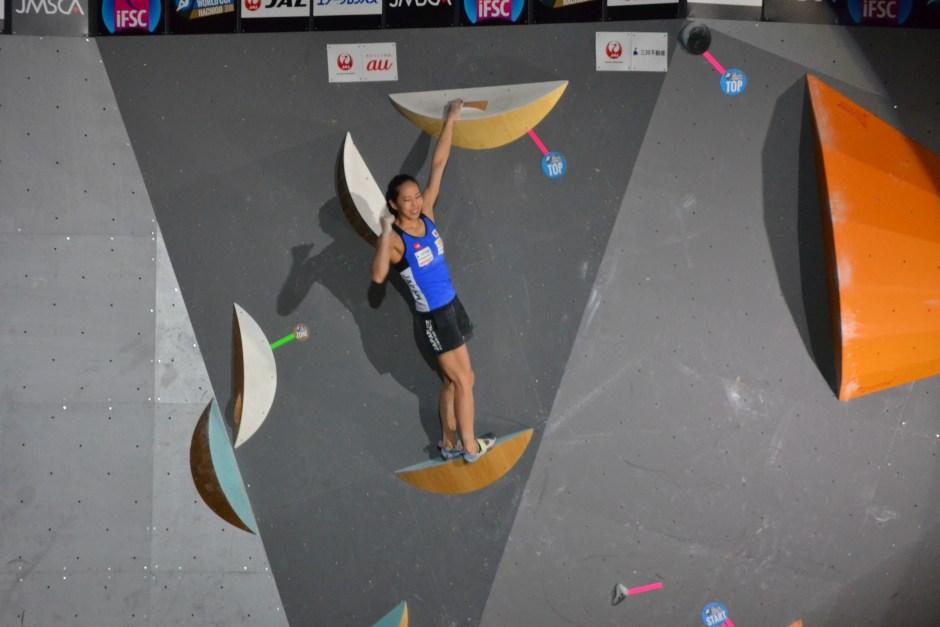 Akiyo Noguchi wins