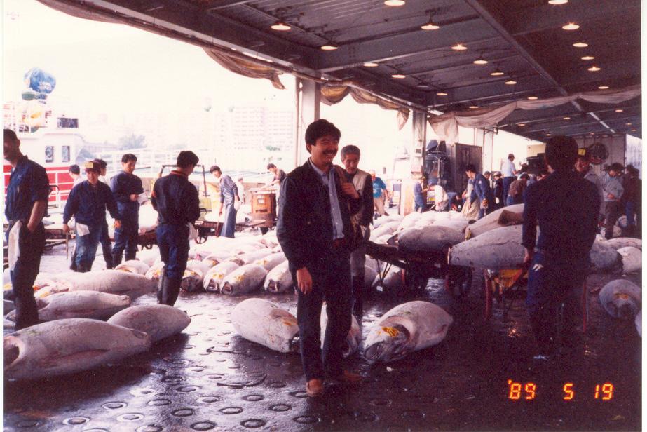 Tsukiji May 1989