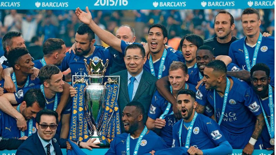 Vichai and Leicester City Premier League Champions
