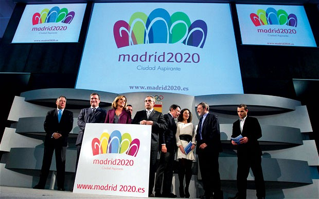 2020 Madrid Bid logo revealed