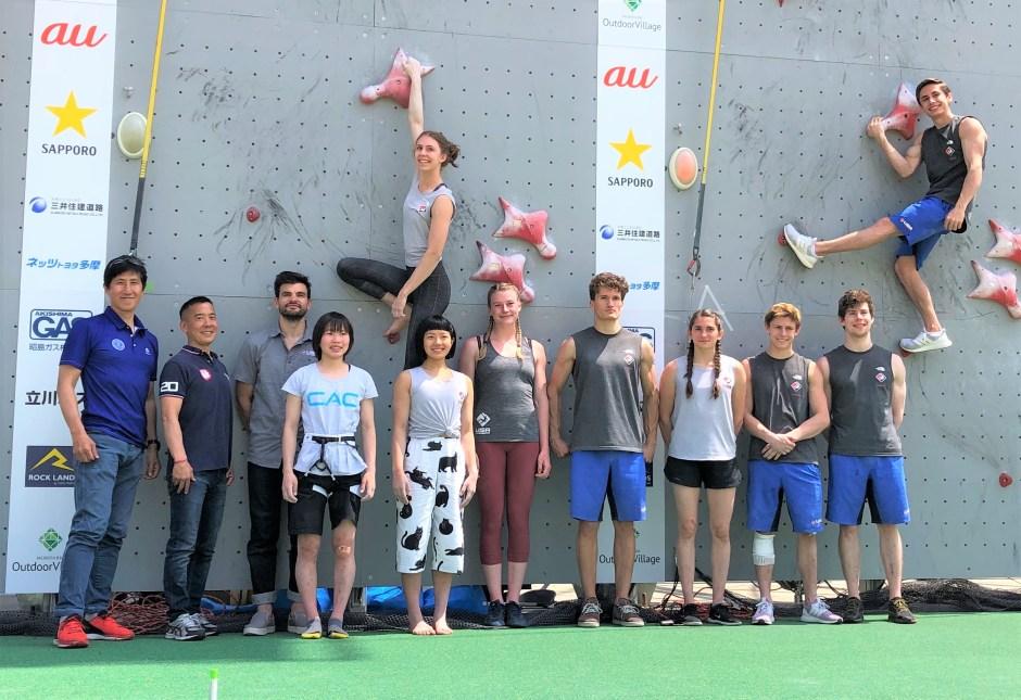 USA Climbing Team