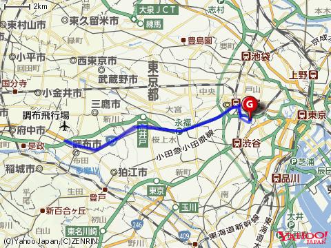 1964 marathon route_google maps