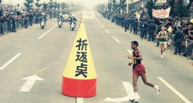 Marathon turning point_Abebe