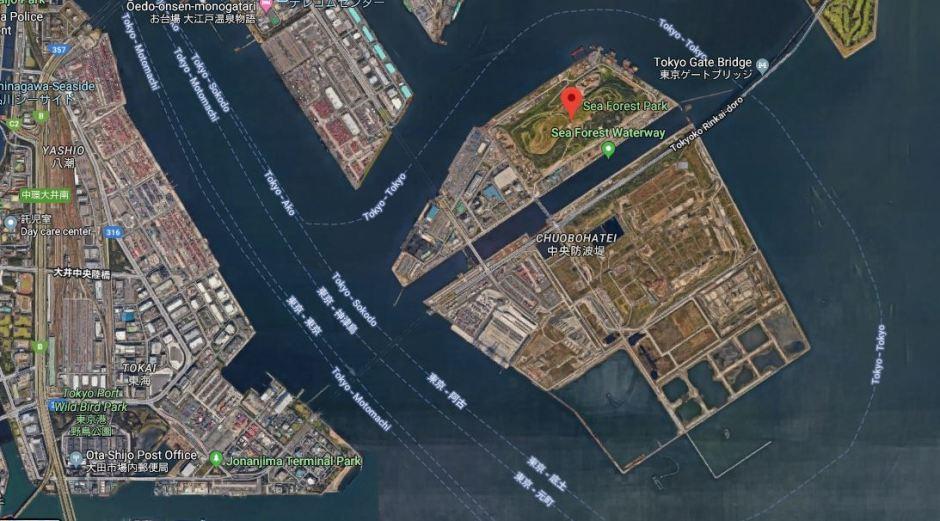 Sea Forest Waterway_Google Maps