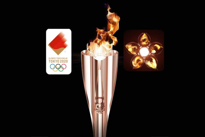 Tokyo 2020 torch relay torch
