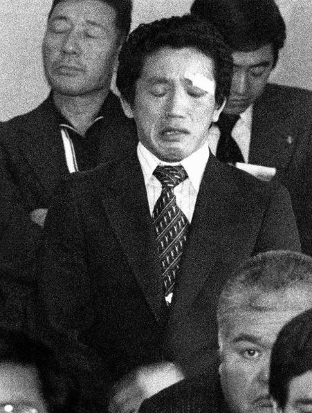 Yuji Takada, wrestler, reacts to JOC vote to boycott the 1980 Olymipcs_Mainichi