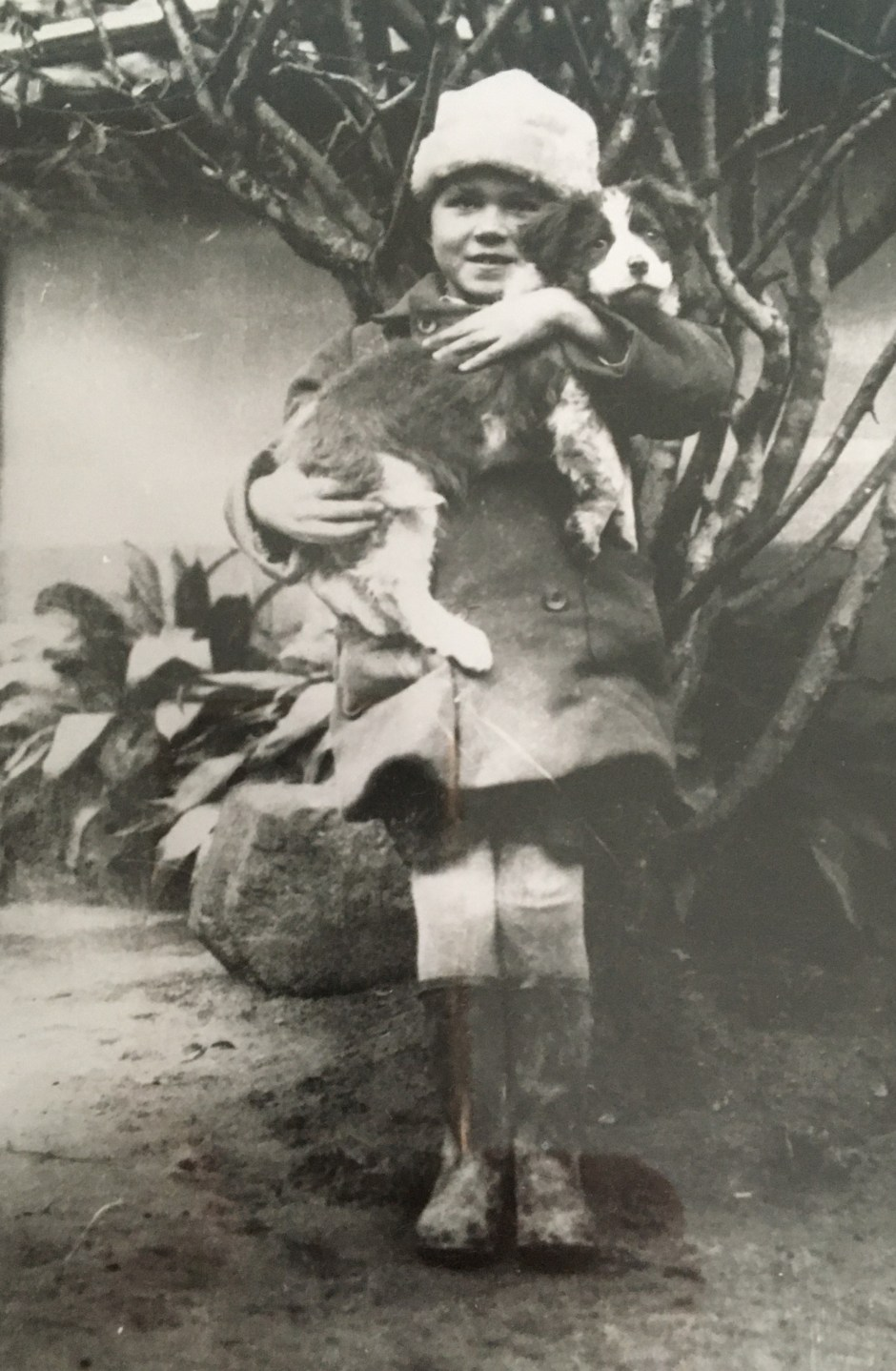 Nikolay Palchikoff as a child Hiroshima