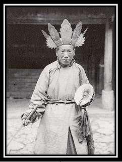 chamana tibetana