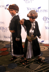 Jacob and Josef at The One Gift Premiere