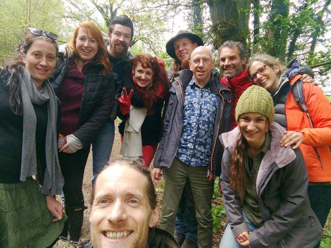 Group photo of One Planet Development workshop April 2019