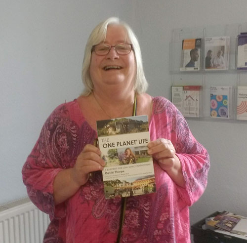 Siobhan Riordan of the Silver Co-housing OPD project at the POne Planet Development worksop July 2019