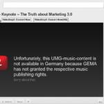 Gesperrter YouTube Film. Innocence of Muslims ist noch online in den meisten Ländern