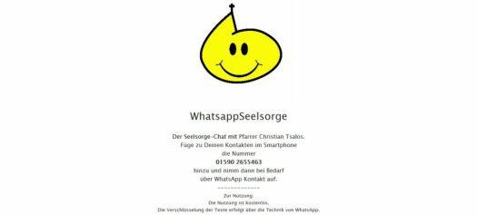 WhatsApp-Seelsorge