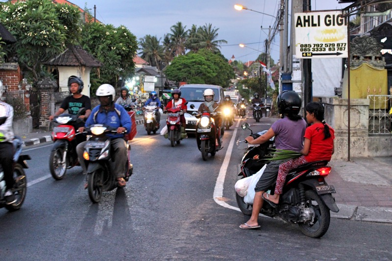 Indonesian traffic