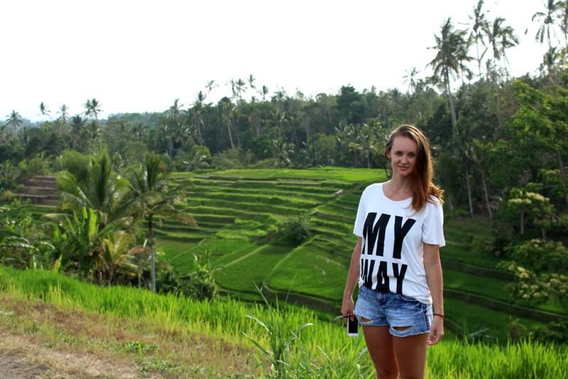 Rice terraces Jatiluwih, UNESCO heritage.