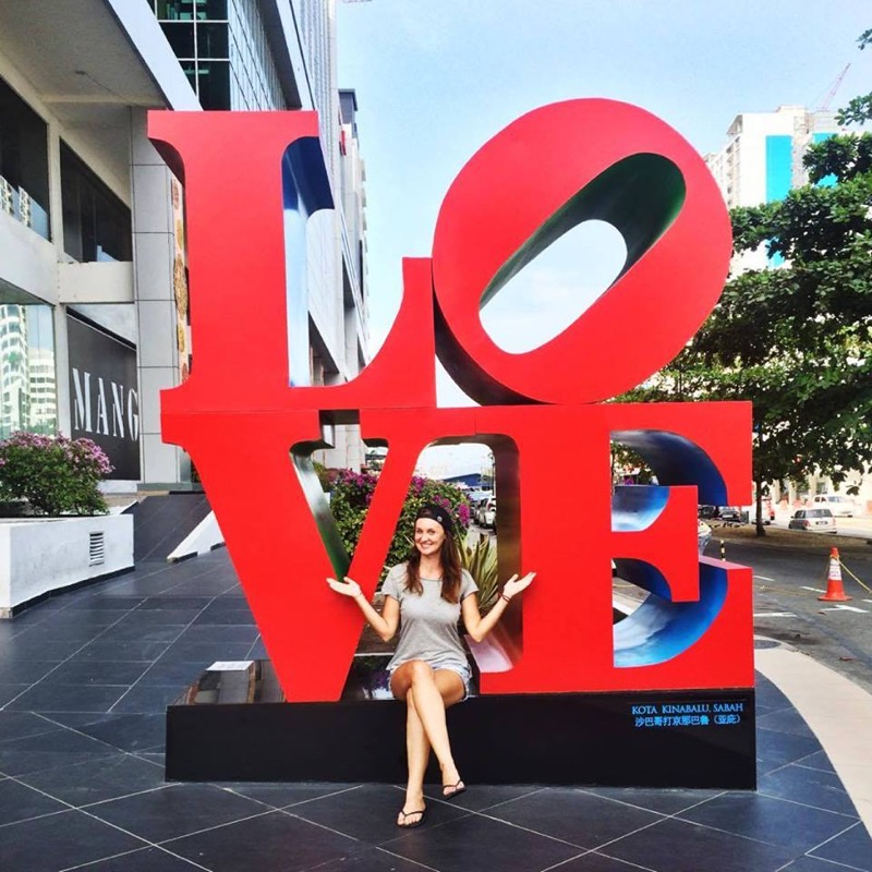 I love Kota Kinabalu