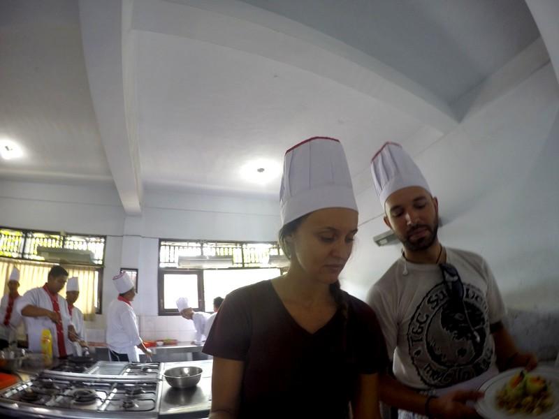 Cooking class gado gado