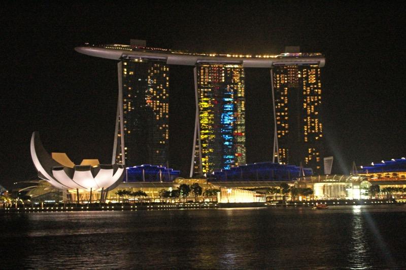 Marina Bay Sands night