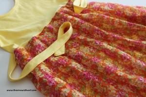 Yellow spring dress 1