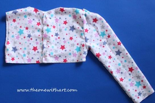 Pyjamas pattern for kids 7