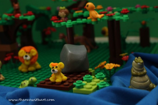 baby lion lego story 1