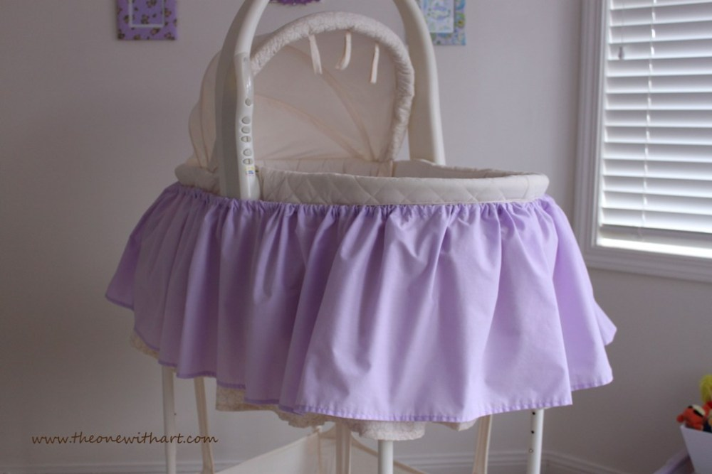 Nursery - Part 5: Bassinet Make-Over (2/6)