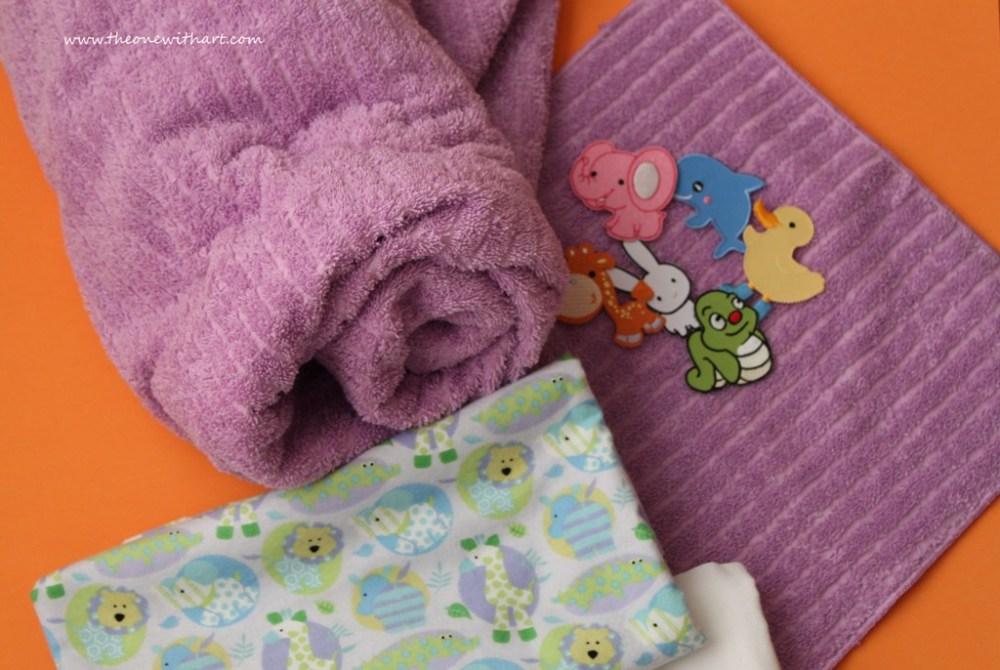 Nursery - Part 4: Baby Bath Towels (1/6)
