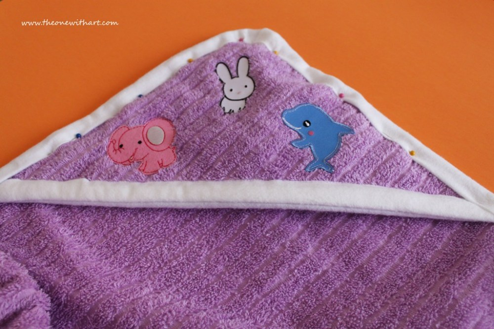 Nursery - Part 4: Baby Bath Towels (6/6)