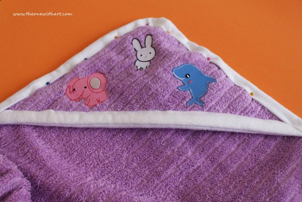Nursery - Part 4: Baby Bath Towels (6/6)