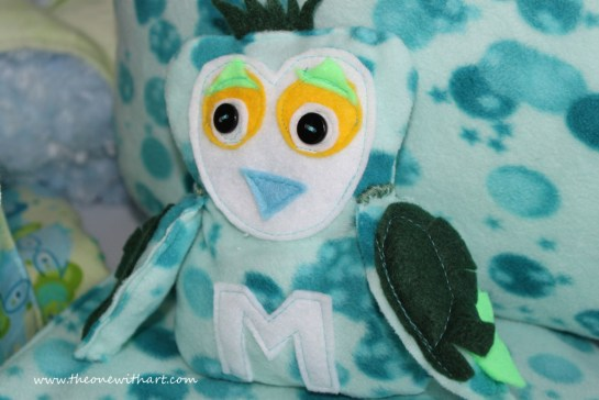 owel soft toy