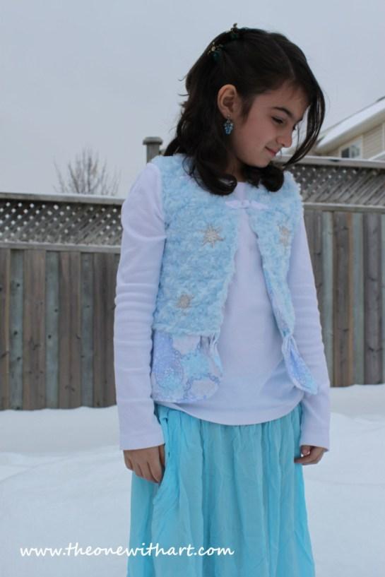 Frozen vest Parya 3
