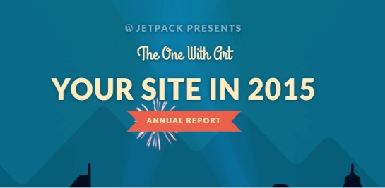 Jetpack annual report 2015