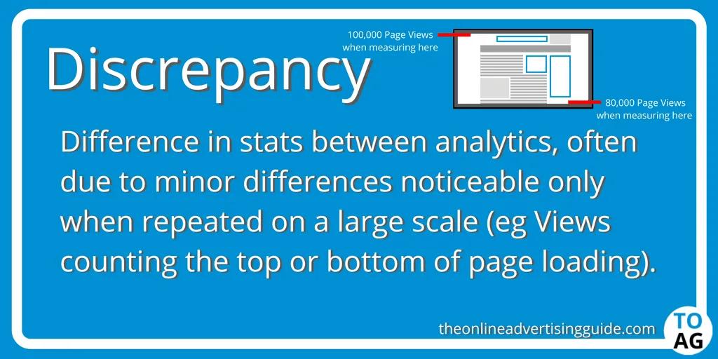 discrepancy definition